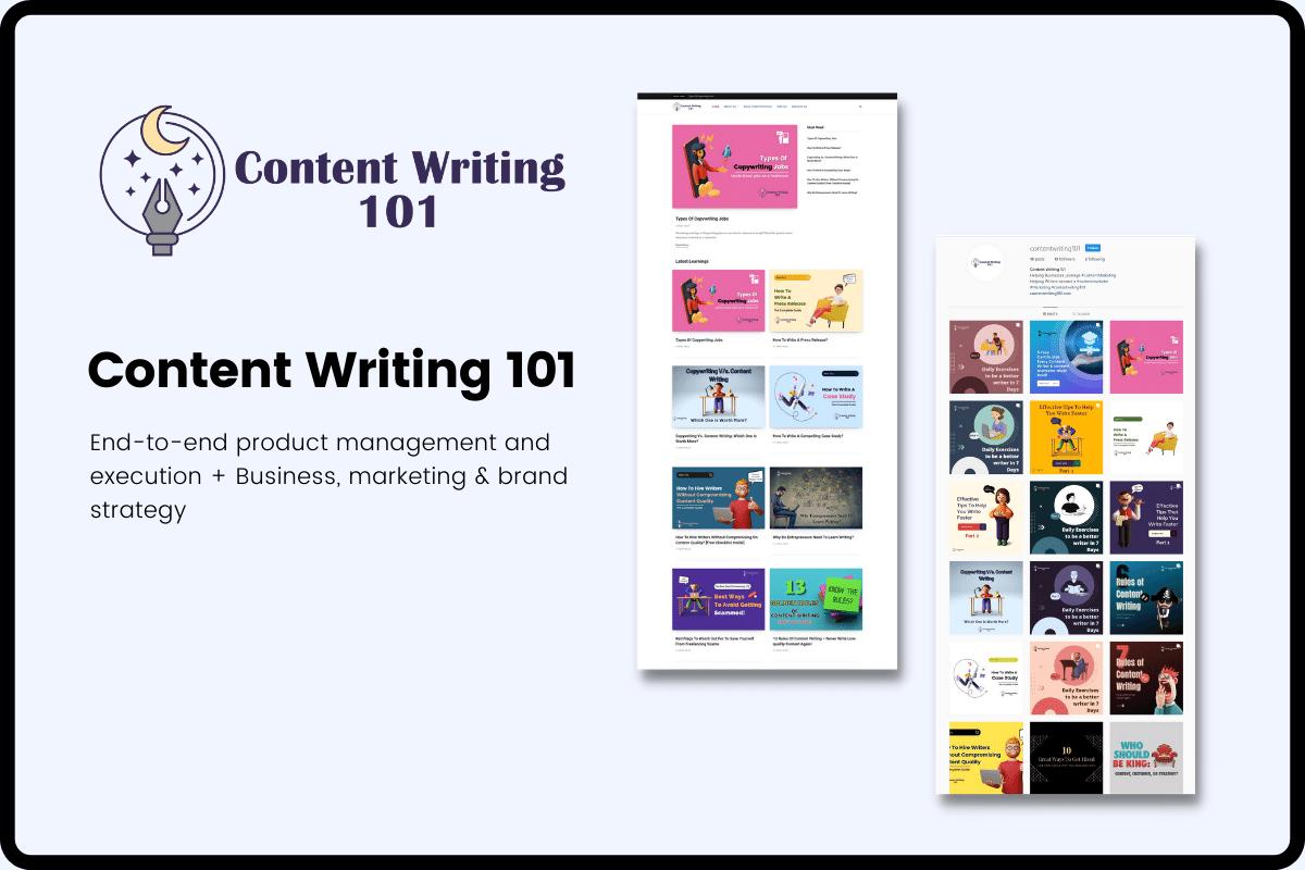 Content Writing 101 Yash A Khatri